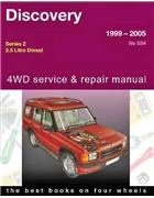 Land Rover Discovery Td5 Diesel (Series 2) 1999 -2005