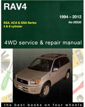 Toyota RAV4 1994 - 2012 Gregorys Owners Service & Repair Manual