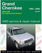 Jeep Grand Cherokee 2WD & 4WD (Petrol) 1993 - 2005