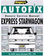 Mitsubishi Express Starwagon 1987 - 1994 Autofix Owners Service & Repair Manual