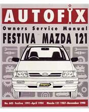 Mazda 121 (WA Series) 1987 - 1990 & Ford Festiva WA 1991 - 1994