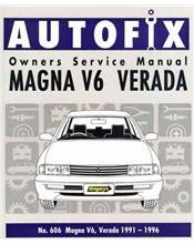 Mitsubishi Magna V6 Verada 1991 - 1996 Autofix Owners Service & Repair Manual