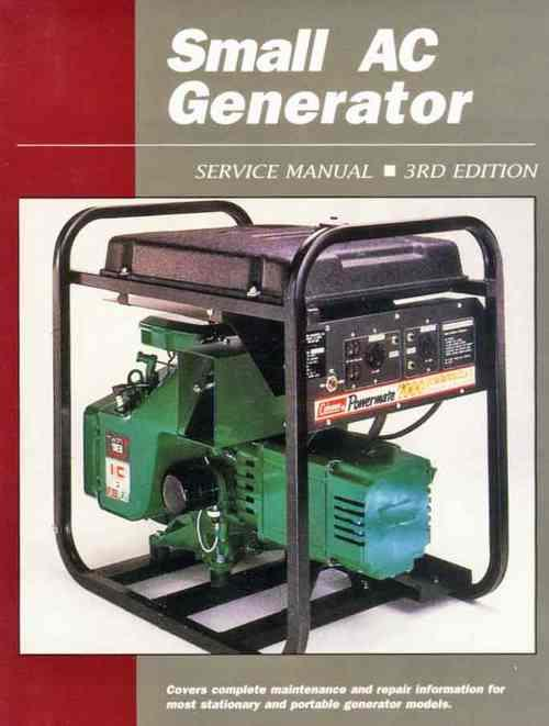 Small AC Generator (Volume 1) Owners Service & Repair Manual - Front Cover