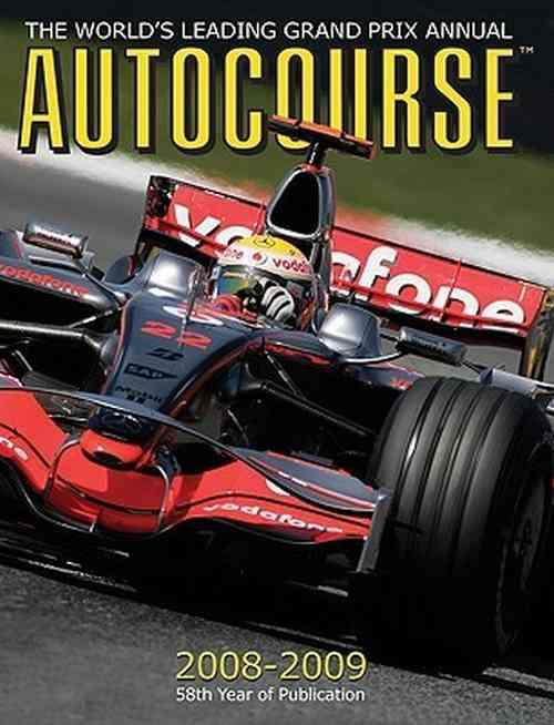 Autocourse 2008 - 2009 : The Worlds Leading Grand Prix Annual - Front Cover