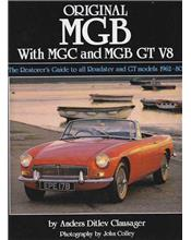 Original MGB with MGC and MGB GT V8 1962 - 1980