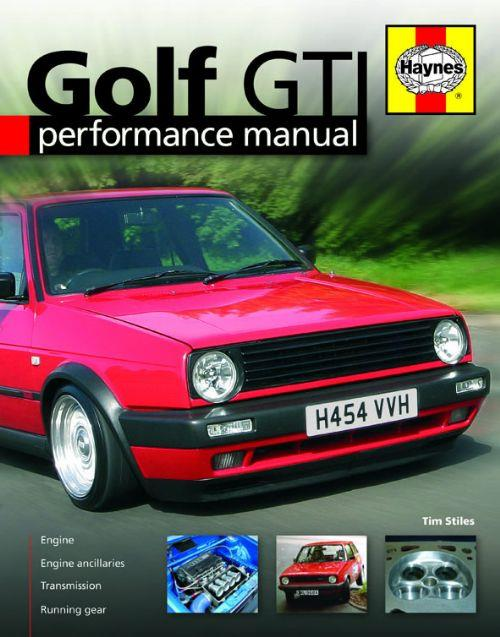 Golf GTi Performance Haynes Manual - Front Cover