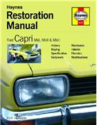 Ford Capri Restoration Manual - Front Cover