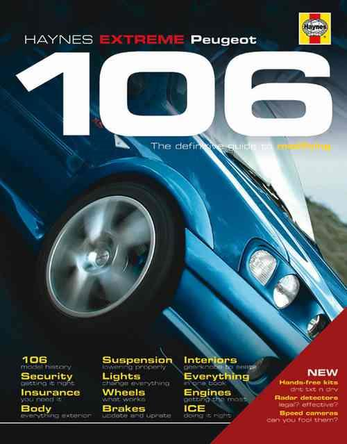 Peugeot 106: Haynes Max Power - Front Cover