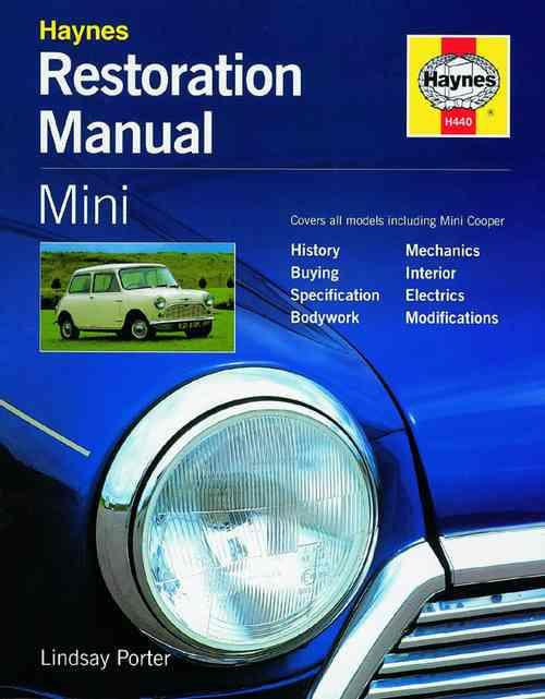 Mini Restoration Manual : Haynes Restoration Manual - Front Cover