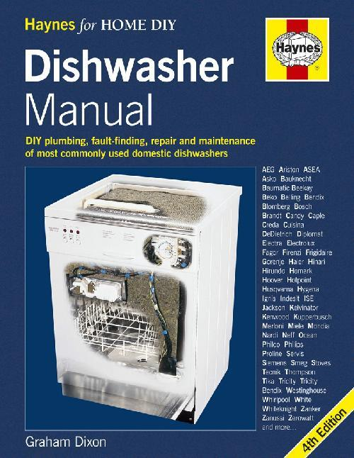Dishwasher Manual (4th Edition) - Front Cover