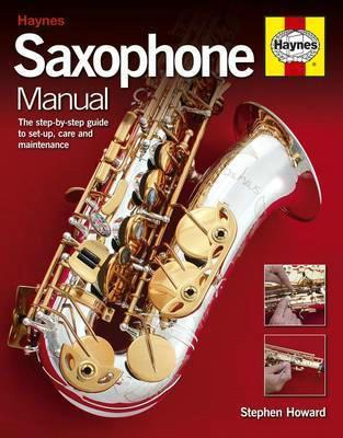 Saxophone Manual - Front Cover