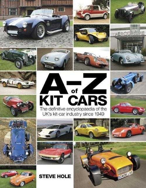 A-Z of Kit Cars - Front Cover