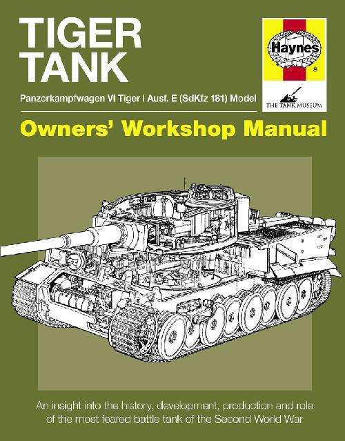 Tiger Tank Owners Workshop Manual - Front Cover