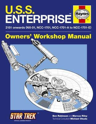 U.S.S. Enterprise Owners Workshop Manual - Front Cover