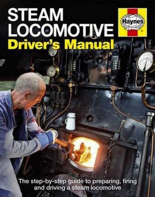 Steam Locomotive Driver's Manual - Front Cover