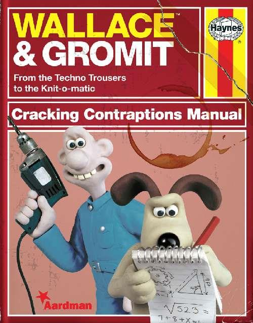 Wallace & Gromit Cracking Contraptions Manual - Front Cover