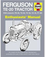 Ferguson TE-20 Tractor 1946 Onwards Haynes Enthusiasts Manual