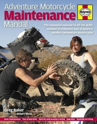 Haynes Adventure Motorcycle Maintenance Manual