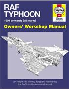 RAF Typhoon 1994 Onwards (All Marks) Haynes Owners Workshop Manuals - Front Cover