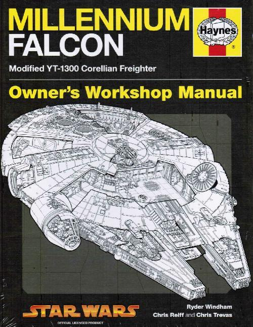 Millennium Falcon 1977 Onwards Haynes Owners Workshop Manual - Front Cover