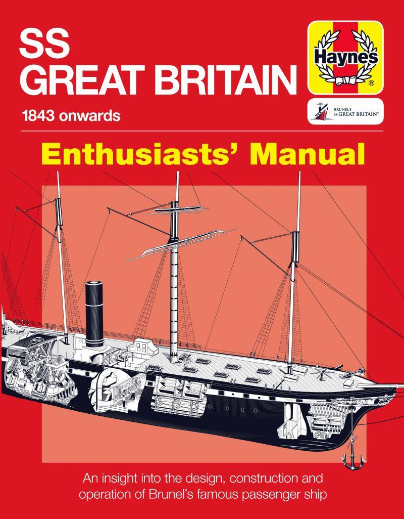 SS Great Britain 1843 Onwards Manual - Front Cover