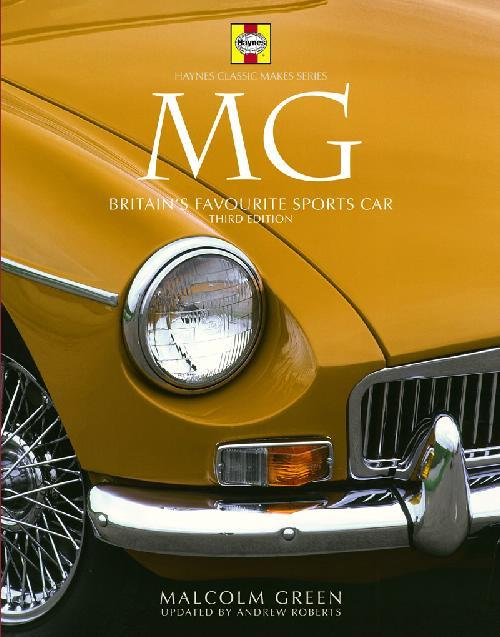MG: Britain's Favourite Sports Car - Front Cover