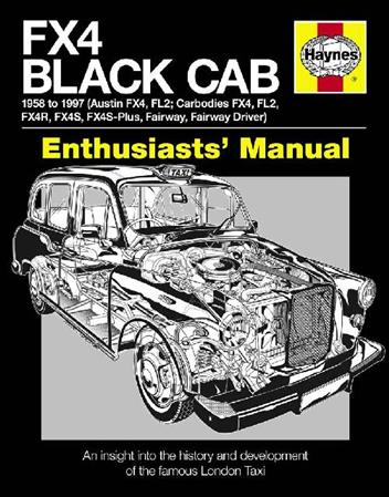 FX4 Black Cab Enthusiasts' Manual - Front Cover