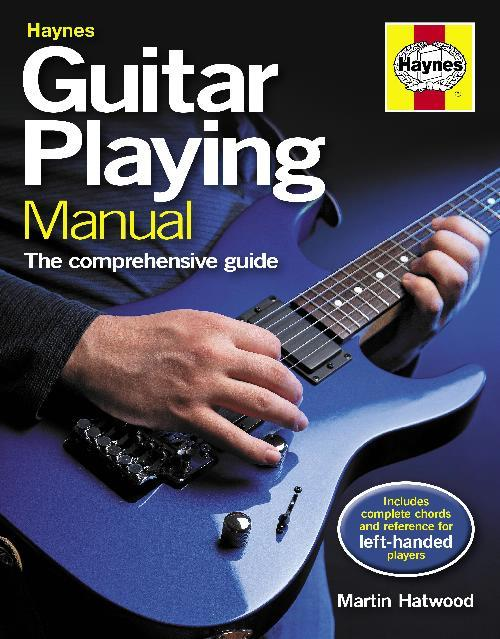 Haynes Guitar Playing Manual - Front Cover
