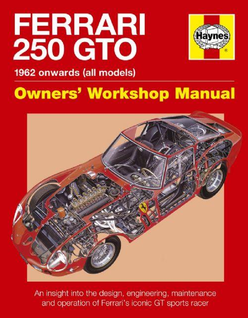 Ferrari 250 GTO Owners Workshop Manual - Front Cover