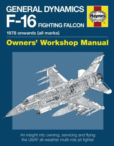 General Dynamics F-16 Fighting Falcon 1978 onwards (all marks) - Front Cover