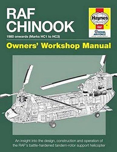 RAF Chinook Manual Haynes Owners Workshop Manual - Front Cover