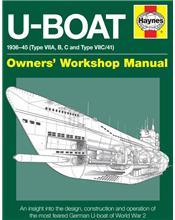 U-Boat 1936 - 1945 (Type VIIA, B, C and Type VIIC/41) Haynes Owners Manual