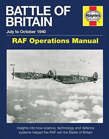 Battle of Britain RAF Operations Manual - Front Cover