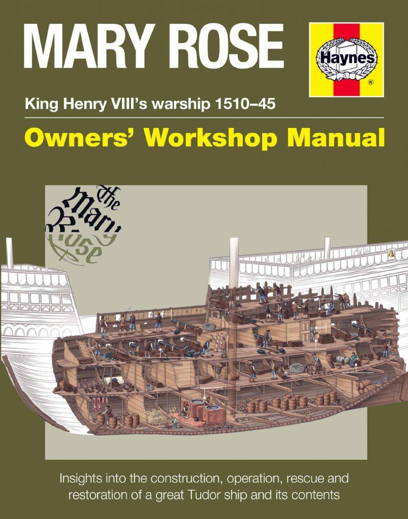 Mary Rose Owners Workshop Manual - Front Cover