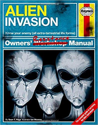 Alien Invasion Haynes Owners' Resistance Manual - Front Cover