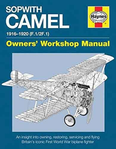 Sopwith Camel 1916 - 1920 F.1 / 2F.1 Haynes Owners Workshop Manual - Front Cover