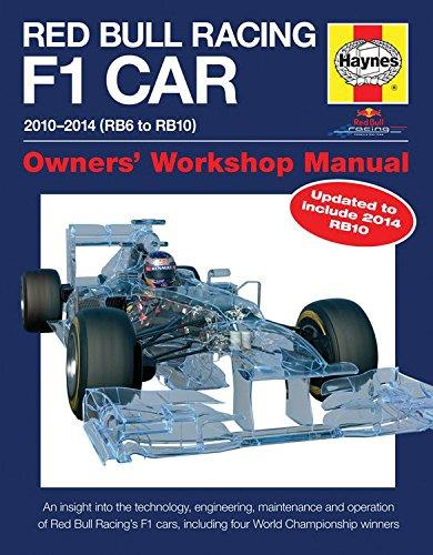 Red Bull Racing F1 Car 2010 - 2014 (RB6 to RB10) - Front Cover