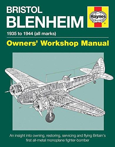 Bristol Blenheim 1935 to 1944 (All Marks) Haynes Owners Workshop Manual - Front Cover