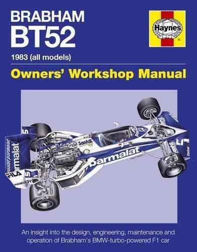 Brabham BT52 1983 (all Models) Owners Workshop Manual - Front Cover