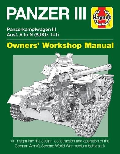Panzer III: Panzerkampfwagen III Ausf. A to N (Sdkfz 141) - Front Cover