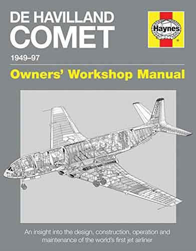 De Havilland Comet 1949 - 1997 Haynes Owners Workshop Manual - Front Cover