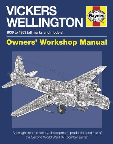 Vickers Wellington 1936 - 1953 All Marks & Models Haynes Owners Workshop Manual