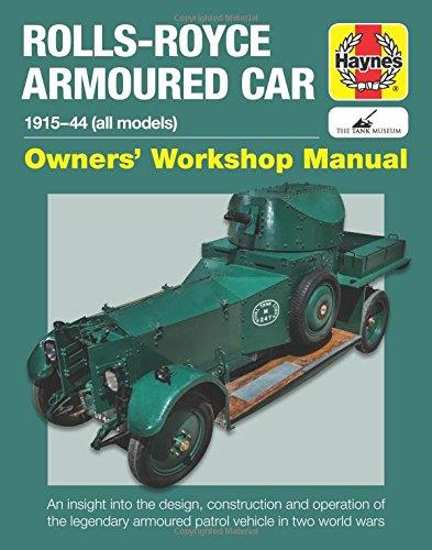 Rolls-Royce Armoured Car 1915 - 1944 (all models)