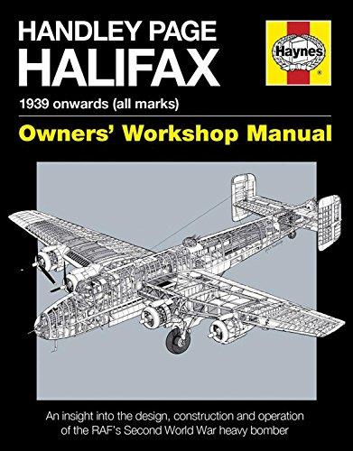 Handley Page Halifax 1939 Onwards (All Marks) Haynes Owners Workshop Manual - Front Cover
