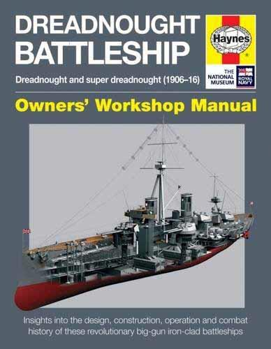 Dreadnought Battleship Owners Workshop Manual - Front Cover