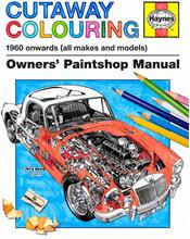 Cutaway Colouring 1960 onwards (all makes and models)