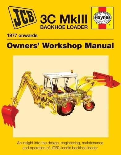 JCB 3C MkIII Backhoe Loader (1977 onwards) Backhoe Loader - Front Cover