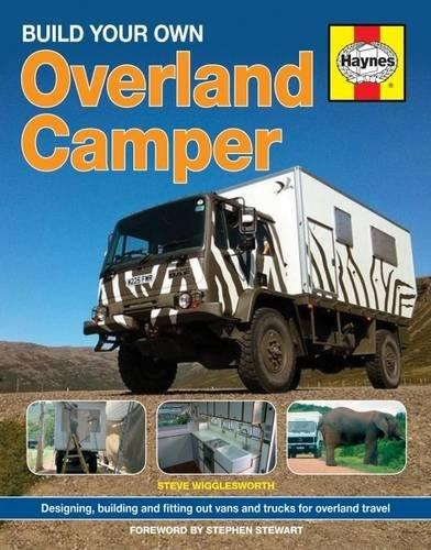 Build Your Own Overland Camper Manual - Front Cover