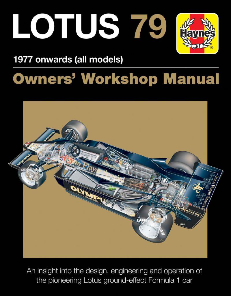 Lotus 79 1977 Onwards (All Models) haynes Owners Workshop Manual - Front Cover