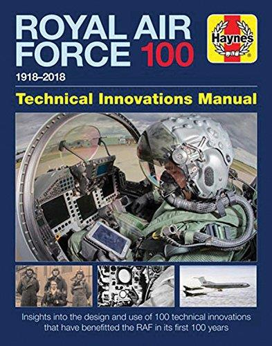 Royal Air Force 100 1918 - 2018 Technical Innovations Manual - Front Cover
